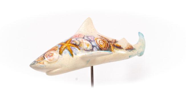 the finarts shark art beach life