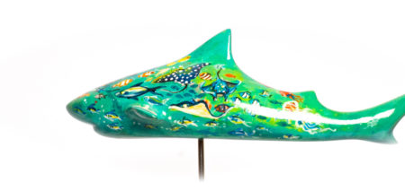 indopacific finarts shark art